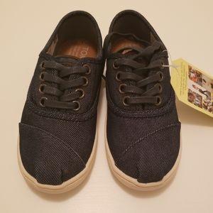 TOMS Cordones Dark Denim Sneakers size 12